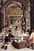 LIEFERINXE, Josse Pilgrims at the Tomb of St Sebastian fg oil painting picture wholesale