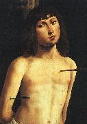 Lorenzo  Costa Saint Sebastian oil painting picture wholesale