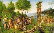 Lorenzo  Costa The Reign of Comus oil painting picture wholesale