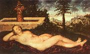 Lucas  Cranach Nymph of Spring oil painting picture wholesale