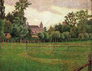 Lucien Pissarro The Church at Gisors oil painting picture wholesale