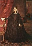 MAZO, Juan Bautista Martinez del The Empress Dona Margarita de Austria in Mourning Dress h oil painting picture wholesale