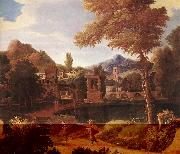 MILLET, Francisque Imaginary Landscape dg oil painting picture wholesale
