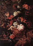 MONNOYER, Jean-Baptiste Flowers af67 oil painting picture wholesale