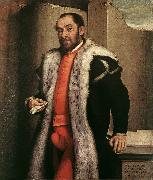 MORONI, Giovanni Battista Portrait of a Man sgy oil painting artist