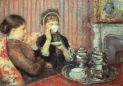 Mary Cassatt The Cup of Tea oil painting picture wholesale