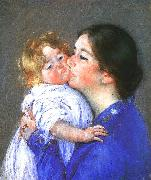 Mary Cassatt A Kiss for Baby Anne oil painting picture wholesale