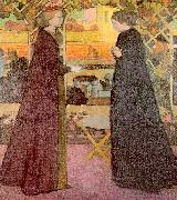 Maurice Denis Mary Visits Elizabeth oil painting picture wholesale