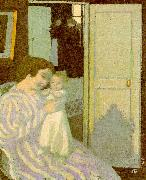 Maurice Denis Mother and Child oil painting picture wholesale