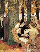 Maurice Denis The Muses in the Sacred Wood oil painting picture wholesale