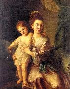 Nathaniel Hone Anne Gardiner with her Eldest Son, Kirkman oil painting picture wholesale