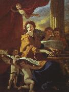 Nicolas Poussin St.Cecelia oil painting picture wholesale
