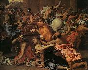Nicolas Poussin The Rape of the Sabine Women oil painting picture wholesale