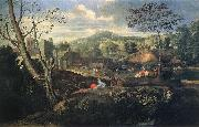 Nicolas Poussin Ideal Landscape oil painting picture wholesale