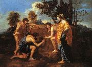 Nicolas Poussin Et in Arcadia Ego oil painting picture wholesale