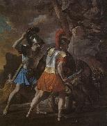 Nicolas Poussin The Companions of Rinaldo oil painting picture wholesale