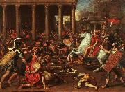Nicolas Poussin The Conquest of Jerusalem oil painting picture wholesale