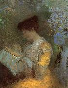 Odilon Redon Madame Arthur Fontaine oil painting picture wholesale