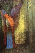Odilon Redon Winged Old Man with a Long White Beard oil painting picture wholesale