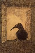 Odilon Redon The Raven oil painting picture wholesale