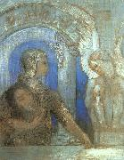 Odilon Redon Mystical Knight oil painting artist
