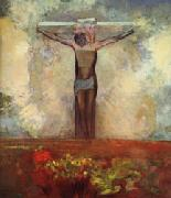 Odilon Redon Crucifixion oil painting artist