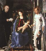Pablo de San Leocadio The Virgin with a Knight of Montesa oil painting picture wholesale
