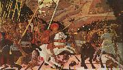 Paolo Ucello Niccolo Mauruzi da Tolentino at The Battle of San Romano oil painting picture wholesale