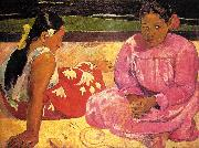 Paul Gauguin Women of Tahiti oil painting picture wholesale
