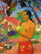 Paul Gauguin Woman Holding a Fruit oil painting picture wholesale