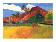 Paul Gauguin Tahitian Landscape oil painting picture wholesale
