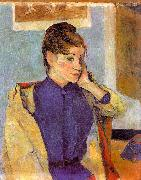 Paul Gauguin Portrait of Madeline Bernard oil painting picture wholesale
