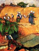 Paul Gauguin Harvest Scene oil painting picture wholesale