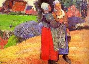 Paul Gauguin Breton Peasants oil painting picture wholesale