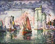 Paul Signac Port of La Rochelle oil painting picture wholesale