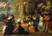 Peter Paul Rubens The Garden of Love oil painting artist