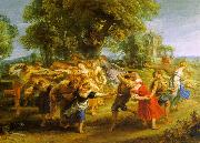Peter Paul Rubens A Peasant Dance oil painting artist