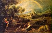 Peter Paul Rubens Landscape with a Rainbow oil painting picture wholesale