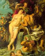 Peter Paul Rubens The Union of Earth and Water oil painting picture wholesale