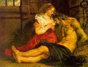 Peter Paul Rubens Roman Charity oil painting artist