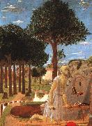 Piero della Francesca The Penance of St.Jerome oil painting picture wholesale