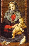 Piero di Cosimo The Virgin Child with a Dove oil painting artist