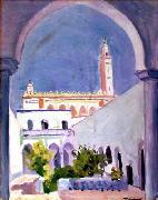 Pierre Albert Marquet Prints Mosque of Laghonat oil painting picture wholesale
