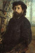 Pierre Renoir Portrait of Claude Monet oil painting picture wholesale