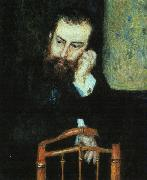 Pierre Renoir Portrait of Alfred Sisley oil painting picture wholesale
