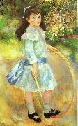 Pierre Renoir Girl with a Hoop oil painting picture wholesale