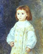 Pierre Renoir Child in White oil painting picture wholesale
