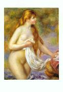 Pierre Renoir Bather with Long Hair oil painting picture wholesale