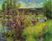 Pierre Renoir The Seine at Chatou oil painting picture wholesale