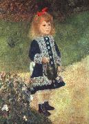 Pierre Renoir Girl and Watering Can oil painting picture wholesale